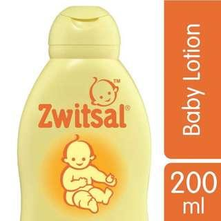 Zwitsal baby lotion