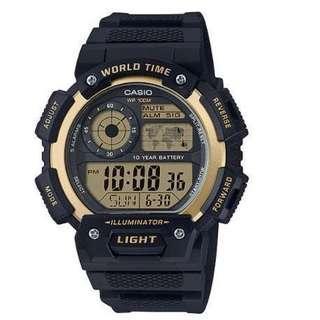 Bn Casio Digital Watch AE-1400WH-9A