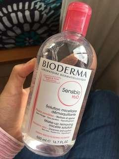 Unopened Bioderma Micelles solution
