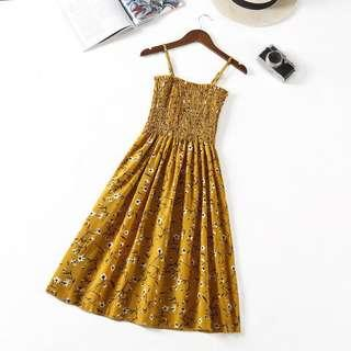 <$10.50 MAILED> Summer Yellow Dress ☀️