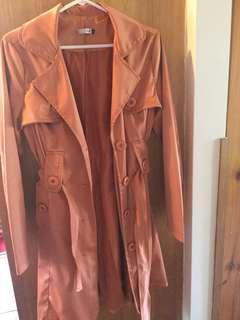 Stylish suite 62 trench coat