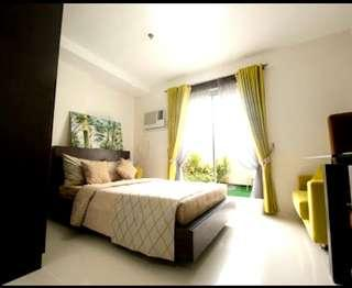 """Fully Furnished Condo Units with garden.Only here in """"The B.B.C."""""""