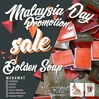 Cantiqa Golden Body Soap