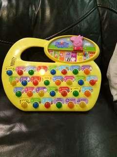 Peppa pig education toys