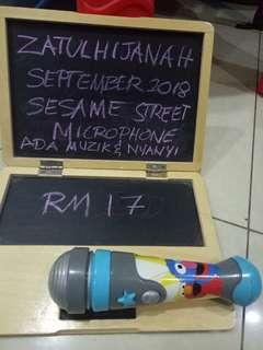 Sesame street microphone