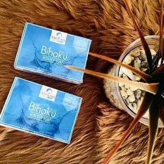 New and Improved Bihaku Soap 135g