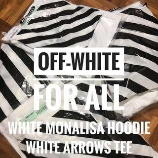 Off-White For All Hoodie And Tee