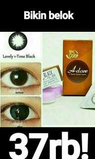 Softlens Adore black minus