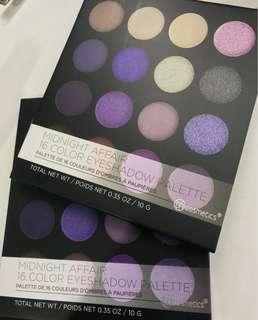 Bh Cosmetics midnight affair palette