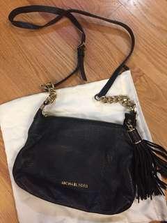 MK Michael Kors tassel crossbody purse