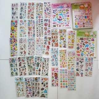 [Juniorcloset] 🆕 Cartoon / Cute stickers or pop-up stickers