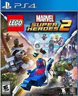 Sony PlayStation 4: LEGO Marvel Super Heroes 2