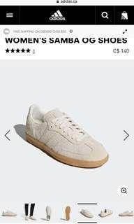 Adidas Samba shoes 6.5