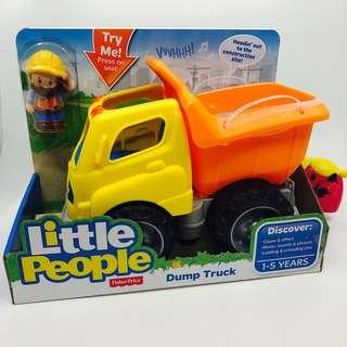 ~Ready Stocked~ Fisher-Price Little People Dump Truck Vehicle