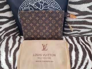 Lv Clutch Bag suit Tablet  25x20cm