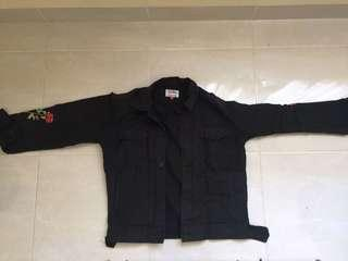Thxsmn outfit trucker