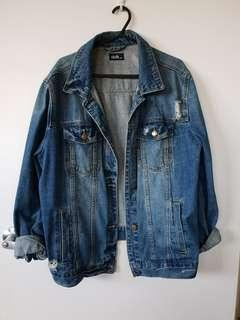 Oversized Denim Jacket M/L