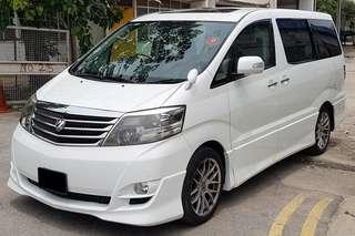 Toyota ALPHARD 3.0A FOR GRAB / LIMO