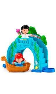 ~Ready Stocked~ Fisher-Price Little People Disney Princess, Ariel Vehicle Playset