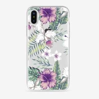 Purple leaves soft case