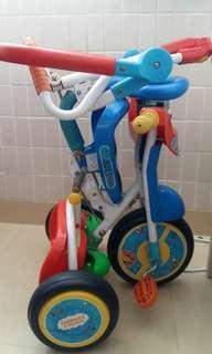 幼兒三輪車, 控制桿已經不能控制 只適合交大幼童