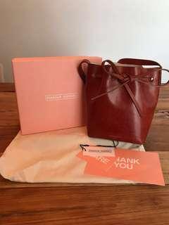 Mansur Gavriel brandy mini mini bucket bag