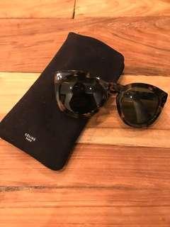 Celine round tortoise sunglasses
