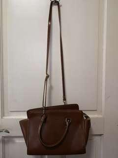 Brown Korean Leather bag