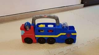Playskool Transformers truck