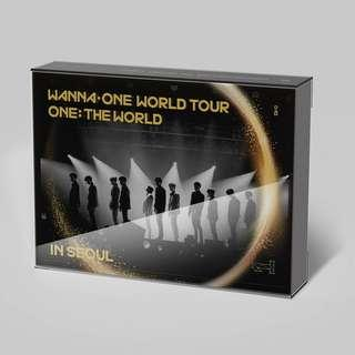 [W/FREE GIFT!] Wanna One - [ONE: The World in Seoul] Blu-Ray