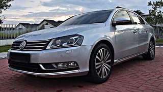 VW PASSAT TSI 1.8cc CONTINUE LOAN