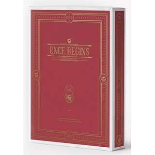 [W/FREE GIFT!] TWICE - Once Begins DVD
