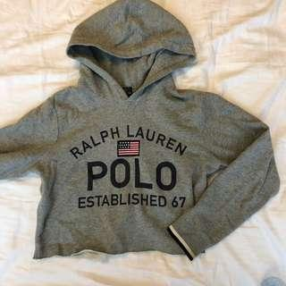 Ralph Lauren POLO cropped hoodie