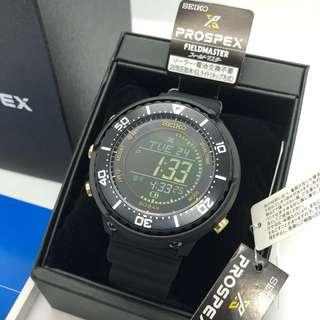 **PROMOTION** Special Price Seiko Digi Tuna Solar Diver Watch Black Gold Prospex with FREE DELIVERY 📦 SBEP005 Fieldmaster Lowercase