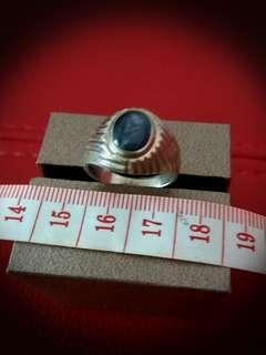 Men's Ruby Ring.