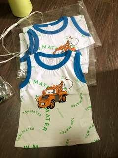 Baby Top singlet brand new, 6-12mths singlet cotton material boys clothes baby