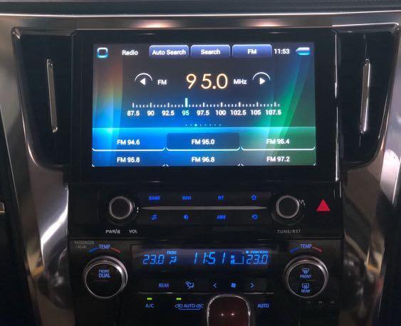 "10 2""Android head unit for Toyota Alphard/Vellfire"