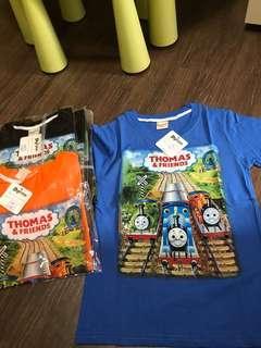 Boys Tees thomas and friend t shirt short sleeve clothes boys children kids wear