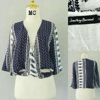 SOMETHING BORROWED BLOUSE