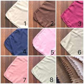 Instock Square Cotton Eyelash Hijab