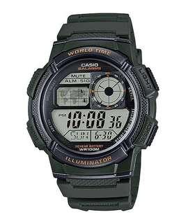 Bn Casio Digital Watch AE-1000W