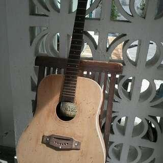 Eko Ranger 6..classical Acoustic Guitar.made In Italy . Body