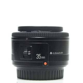 Yongnuo 35mm F2 For Canon Mount