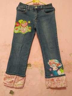 Celana Jeans Stroberi