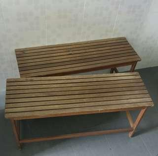 Rent Rental: IKEA Applaro Wooden Indoor Outdoor Garden Bench