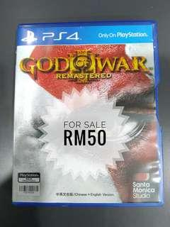 PS4 God Of War Remastered