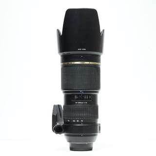 Tamron SP 70-200mm F2.8 IF Macro Lens (For Nikon Mount)