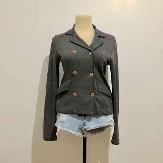 SALE! Gray Blazer / Jacket