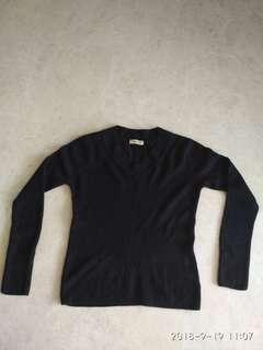 Dano Black Pullover