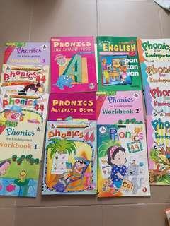 Phonics books for preschool